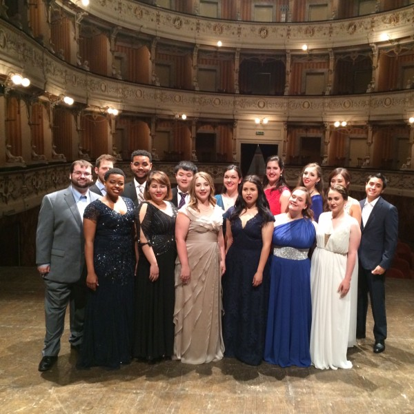 Opera in Concert in Italy 2016 performs in Cagli Theater